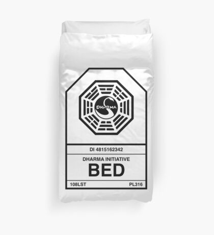 Dharma Initiative Bed Duvet Cover