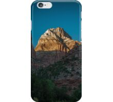 Zion National Park Mountain iPhone Case/Skin