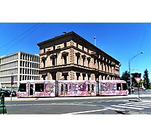 Colourful Tram at Old Treasury Building Photographic Print