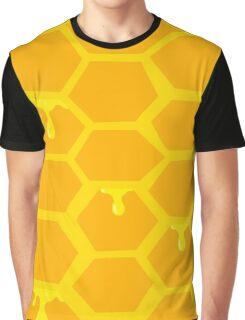 honey comb Graphic T-Shirt