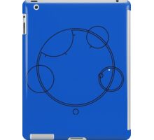 "Circular Gallifreyan ""Allons-y"" graphic top iPad Case/Skin"