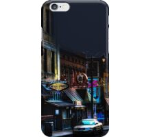 Closing Time on Beale iPhone Case/Skin