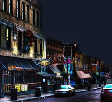 Closing Time on Beale by Barry  Jones