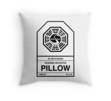 Dharma Initiative Pillow Throw Pillow
