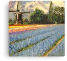 Tulip Time Fine Art Canvas Print 2 of 3 Canvas Print