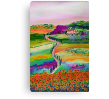 Tuscan countryside Canvas Print