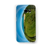 Kinnagoe Bay (as half a planet :-) Samsung Galaxy Case/Skin
