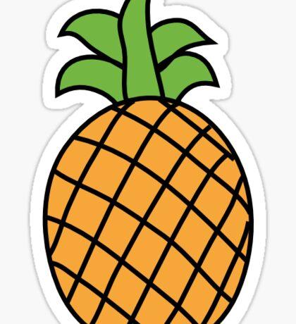 Pineapple Bop Sticker