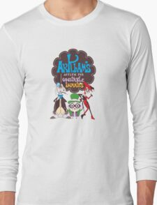 Bats Imaginary Friends, Frankie Quinn, Madam Riddler, and Herriguin Long Sleeve T-Shirt