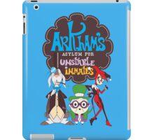 Bats Imaginary Friends, Frankie Quinn, Madam Riddler, and Herriguin iPad Case/Skin