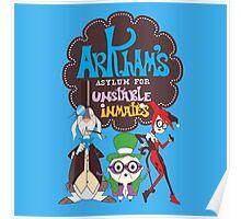 Bats Imaginary Friends, Frankie Quinn, Madam Riddler, and Herriguin Poster