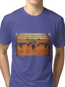 Antique Trunk Tri-blend T-Shirt