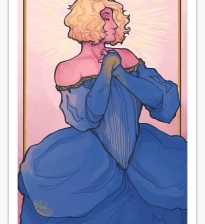 Sun King Dress Fling  Sticker