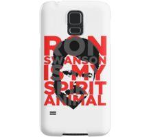 Ron Swanson Is My Spirit Animal Samsung Galaxy Case/Skin
