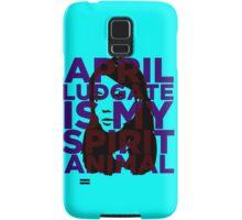 April Ludgate Is My Spirit Animal Samsung Galaxy Case/Skin
