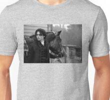 Johnny Depp with horse Unisex T-Shirt