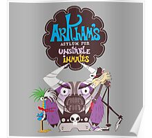 Bats Imaginary Friends, Baneduardo, Wiltcrow, and CoCoFace Poster