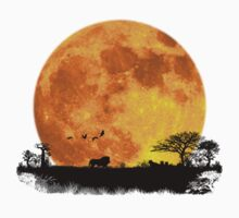 African Moonrise Kids Clothes