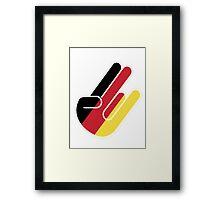 GERMAN SHOCKER Framed Print