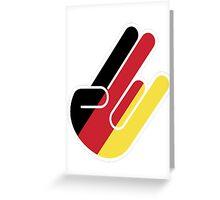 GERMAN SHOCKER Greeting Card