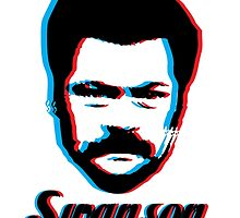Swanson by ThePencilClub