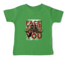 Face! Your Moustache Needs YOU! Baby Tee