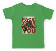 Face! Your Moustache Needs YOU! Kids Tee