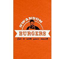 Swanson Burgers Photographic Print