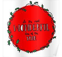 Wonderful Christmas Poster