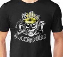 Construction Skull 4: Killer Construction Unisex T-Shirt