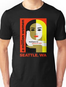 Women's March on Seattle Washington January 21, 2017 Unisex T-Shirt