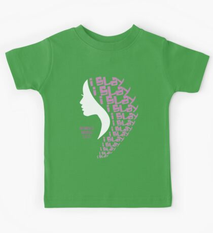 "Women's March 1.21.17 Fundraiser - ""I Slay"" Protest Design Kids Tee"