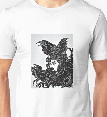 Raven Haired Unisex T-Shirt