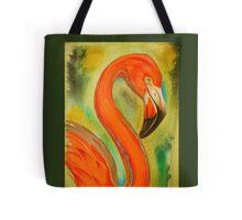 pink flamingo, large version Tote Bag