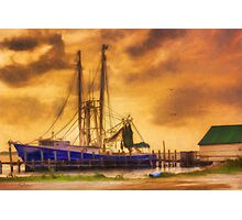 Captain Ricky's Boat Photographic Print