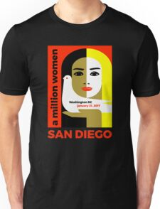 Women's March on San Diego, California January 21, 2017 Unisex T-Shirt