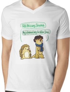 Johnlock Mens V-Neck T-Shirt