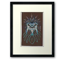 River Otter. Framed Print