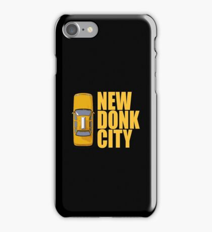 New Donk City Taxi iPhone Case/Skin