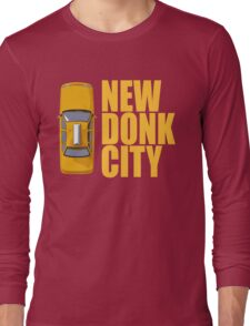New Donk City Taxi Long Sleeve T-Shirt