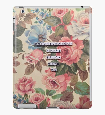 Oh Sarcastic Valentine  iPad Case/Skin