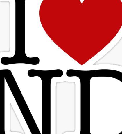 I Heart New Donk Sticker