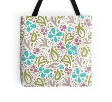 Sweet Floral Nature Patterns Tote Bag