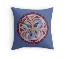 Shining forth the light of wisdom and truth Throw Pillow