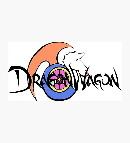 Dragon Wagon Photographic Print