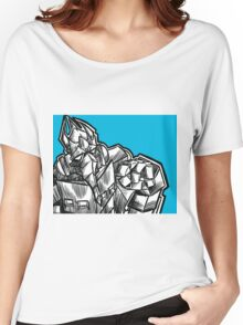 trans-morph-robot-thing Women's Relaxed Fit T-Shirt