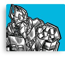 trans-morph-robot-thing Canvas Print