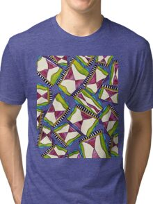 abstract hourglass on stage Tri-blend T-Shirt