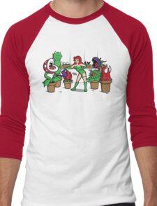 Ivy's Greenhouse Men's Baseball ¾ T-Shirt