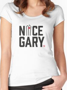 Nice Garry - The  Women's Fitted Scoop T-Shirt
